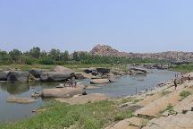 Tungabhadra River, Hampi, India