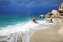 Megali Petra Beach, Lefkada, Greece