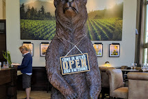 Huge Bear at The Bank Tasting Room, Calistoga, United States