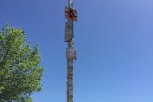 License Plate Pole, Washington, United States