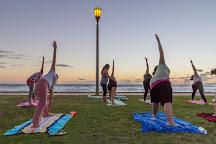 Beach Sunset Yoga Hawaii, Honolulu, United States