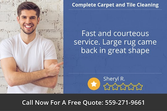 Fresno's Best Rug Cleaning Service