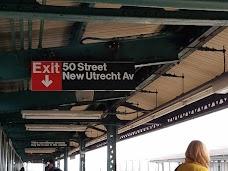 50 Street Subway Station new-york-city USA