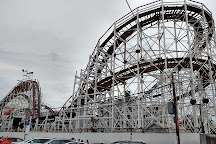 The Cyclone Roller Coaster Coney Island NY, Brooklyn, United States