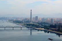 Daedong River (Taedong River), Pyongyang, North Korea