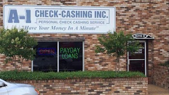 A-1 Check Cashing Inc. Payday Loans Picture
