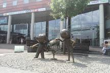 Monument to Bolek i Lolek, Bielsko-Biala, Poland