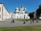 Памятник Тысячелетию России на фото Великого Новгорода