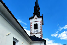 Church of St. Jacob, Ribno, Slovenia