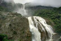 Nohsngithiang (Seven Sisters) Falls, Sohra, India