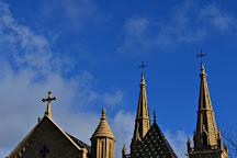 The Collegiale church, Neuchatel, Switzerland