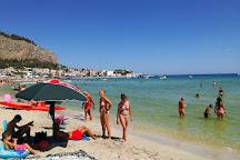 Spiaggia di Mondello, Mondello, Italy