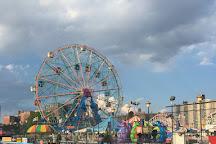 Luna Park at Coney Island, Brooklyn, United States