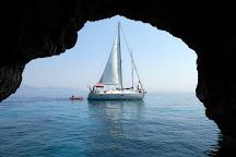 Blue Caves, Korithi, Greece