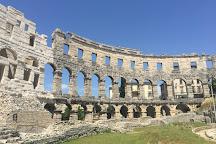 Amphitheatre de Pula, Pula, Croatia