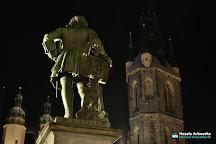 The Handel Monument, Halle (Saale), Germany