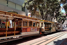 Powell and Market Cable Car Turnaround, San Francisco, United States