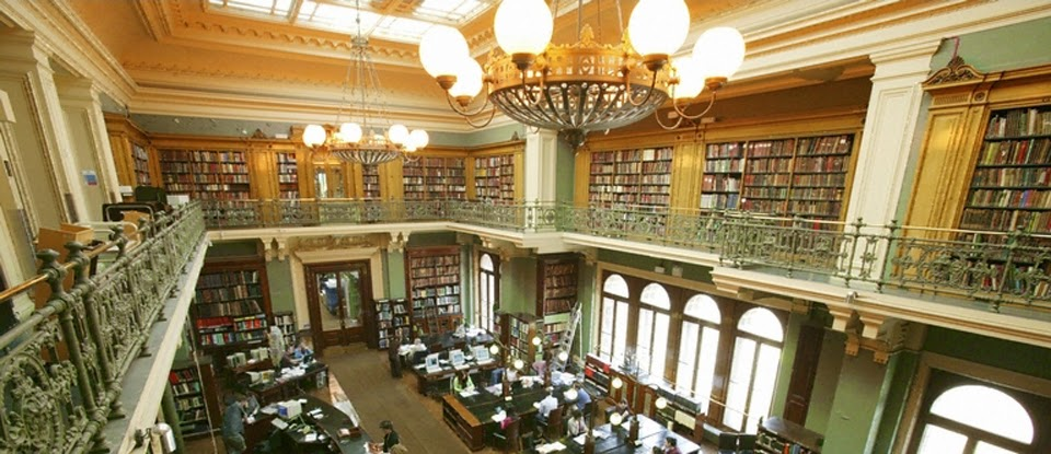 National Art Library: A Work-Friendly Place in London