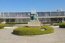 Hiroshima Peace Memorial Museum, Hiroshima, Japan