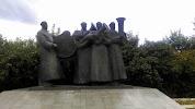 Памятник военным музыкантам, улица Ленина на фото Липецка