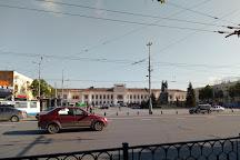 Monument Scouts Motorcyclists Urals Volunteer Tank Corps, Yekaterinburg, Russia