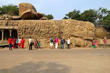 Krishna Mandapam, Mahabalipuram, India