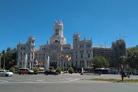 Станция   Cibeles   Banco De España