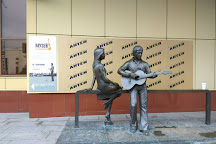 The Monument to Vladimir Vysotsky and Marina Vlady, Yekaterinburg, Russia