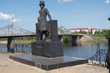 Monument to Alexander Pushkin, Tver, Russia