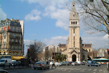 Eglise Saint Pierre Montrouge, Paris, France