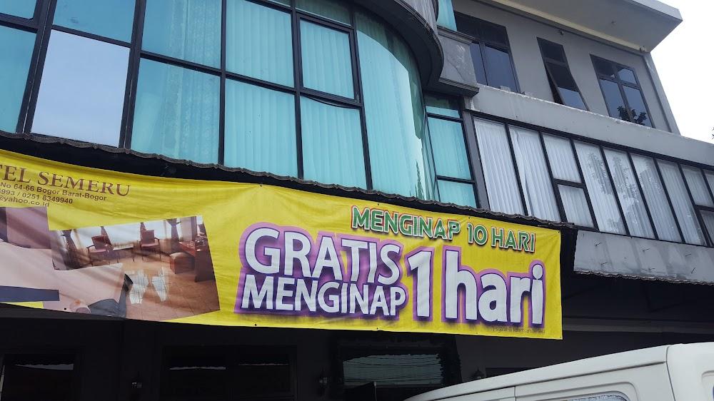 Hotel Semeru Jl Dr Sumeru No 64 66 Menteng Bogor Bar Kota Bogor Jawa Barat 16111 Indonesia