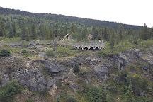 Yukon Suspension Bridge, British Columbia, Canada