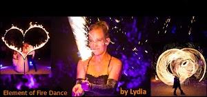Feuershow Lichtshow Lydia -