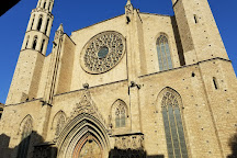 Basilica de Santa Maria del Mar, Barcelona, Spain