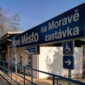 Железнодорожная станция  Nove Mesto Na Morave Zastavka