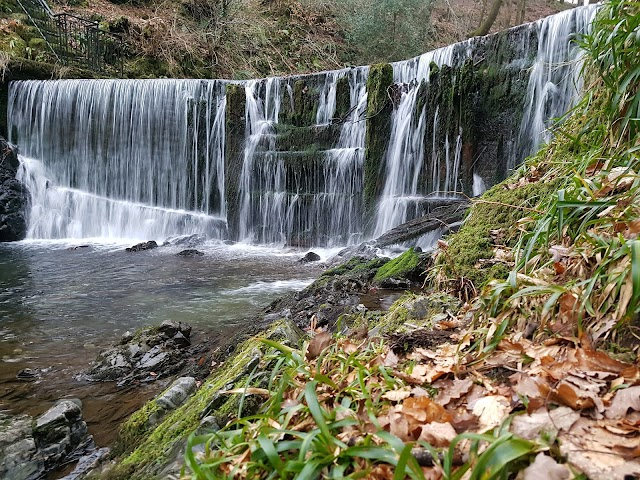 Stock Ghyll Force Waterfalls