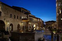 Fontana dei Tre Leoni, Assisi, Italy
