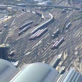 Железнодорожная станция  Frankfurt(Main)Hbf