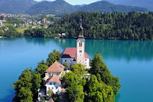 Pilgrimage Church of the Assumption of Maria, Bled, Slovenia