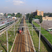 Железнодорожная станция  Rizhskaya
