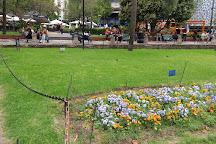 La Plaza Fabini o Plaza del Entrevero, Montevideo, Uruguay