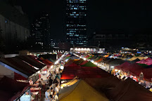 Train Night Market, Bangkok, Thailand
