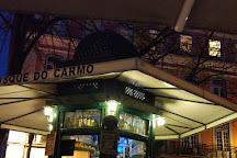 Praça Largo Do Carmo, Lisbon, Portugal