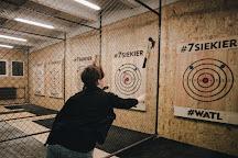 7siekier - Axe Throwing Club, Wroclaw, Poland