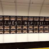 Станция метро  Náměstí Republiky