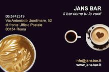 Jans Bar Roma, Rome, Italy