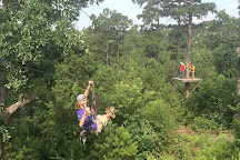New York Texas Zipline Adventures, Larue, United States