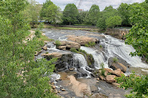 Falls Park on the Reedy, Greenville, United States