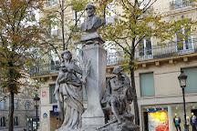 La Statue d'Auguste Comte, Paris, France
