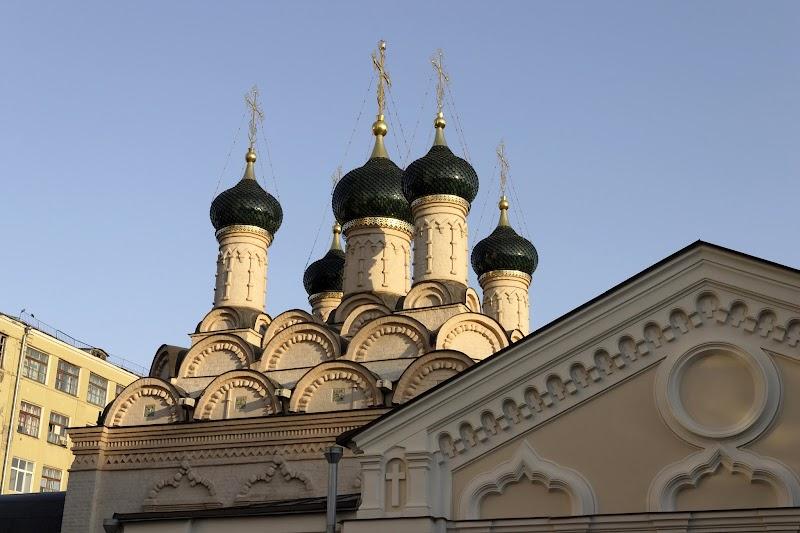 Храм Софии Премудрости Божией в Средних Садовниках гор. Москвы на фото